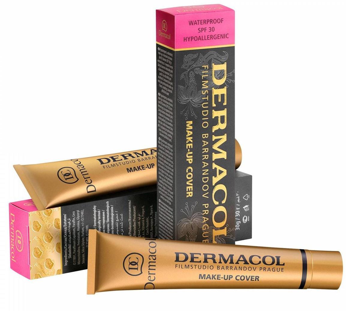 Тональный крем Dermacol Make-Up Cover (Поштучно - № 210, 211, 212)   8595