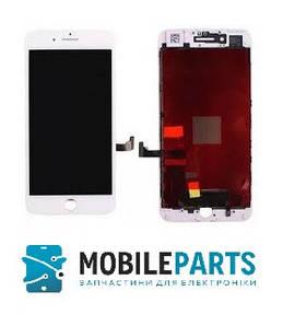 Дисплей для телефона Apple iPhone 7 Plus с сенсорным стеклом (Белый) Оригинал Китай, Tianma