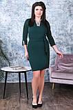 Модное женское платье,ткань креп-дайвинг,размеры:50,52,54., фото 3