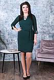 Модное женское платье,ткань креп-дайвинг,размеры:50,52,54., фото 6