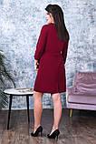 Модное женское платье,ткань креп-дайвинг,размеры:50,52,54., фото 7