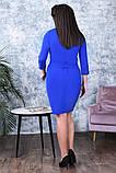 Модное женское платье,ткань креп-дайвинг,размеры:50,52,54., фото 8