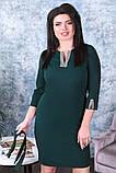 Модное женское платье,ткань креп-дайвинг,размеры:50,52,54., фото 9
