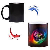 Чашка хамелеон Магия планет 330мл