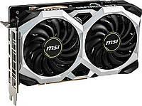 Видеокарта GeForce GTX 1660 OC, MSI, VENTUS XS, 6Gb DDR5, 192-bit, HDMI/3xDP, 1830/8000 MHz, 8-pin (