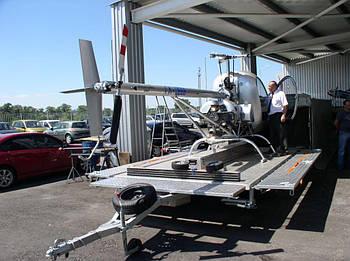 Прицеп-Платформа для вертолета