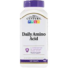 """Аминокислоты для ежедневного приема 21st Century """"Daily Amino Acid"""" (120 таблеток)"""