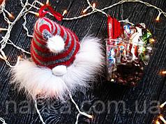 Новогодний гномик - подвеска, коробочка с конфетами - сладкий подарок :) 3 цвета