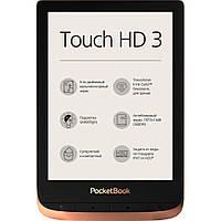 "Электронная книга 6"" PocketBook 632 Touch HD 3 Spicy Copper (PB632-K-CIS) E-Ink Carta, 1448x1072, 16"