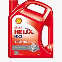 Моторное масло Shell HX3 15W40 (4л)