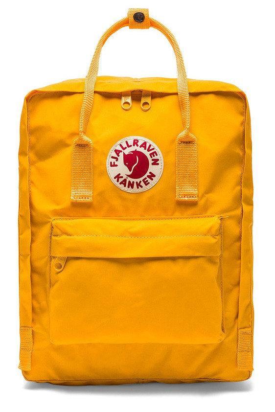 Рюкзак Fjällräven Kanken Yellow