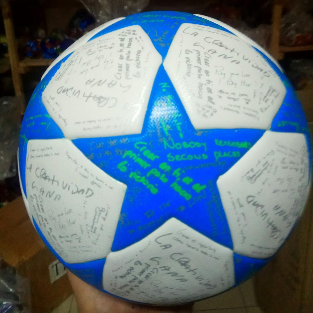 Мяч футбольный Champion League, размер 5, ПУ, 400-420г, ламинированный, MS1706