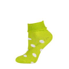 Дитячі махрові шкарпетки з відворотом