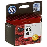 Картридж HP №46 (CZ637AE), Black, DJ Ink Advantage 2020hc/2520hc, OEM
