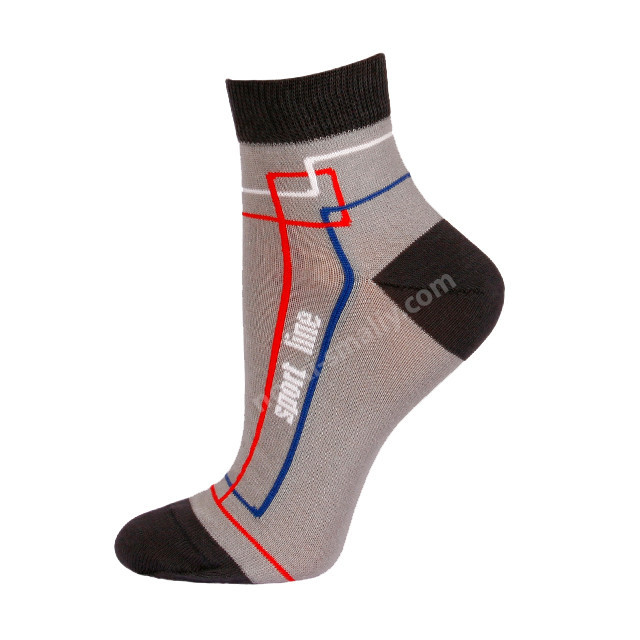 Детские демисезонные носки двухцветные