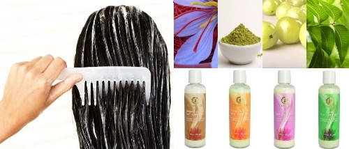 """Натуральный кондиционер для волос """"Хна и Алоэ Вера"""" Chandi, 200мл, фото 2"""