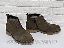 Ботинки женские Gino Figini Б-152-03 из натуральной замши 39 Бежевый, фото 2