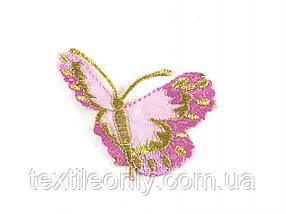 Нашивка метелик 70 х 65 мм