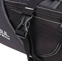 Велосипедная большая сумка под седло вело кофр B-Soul 10л, фото 3