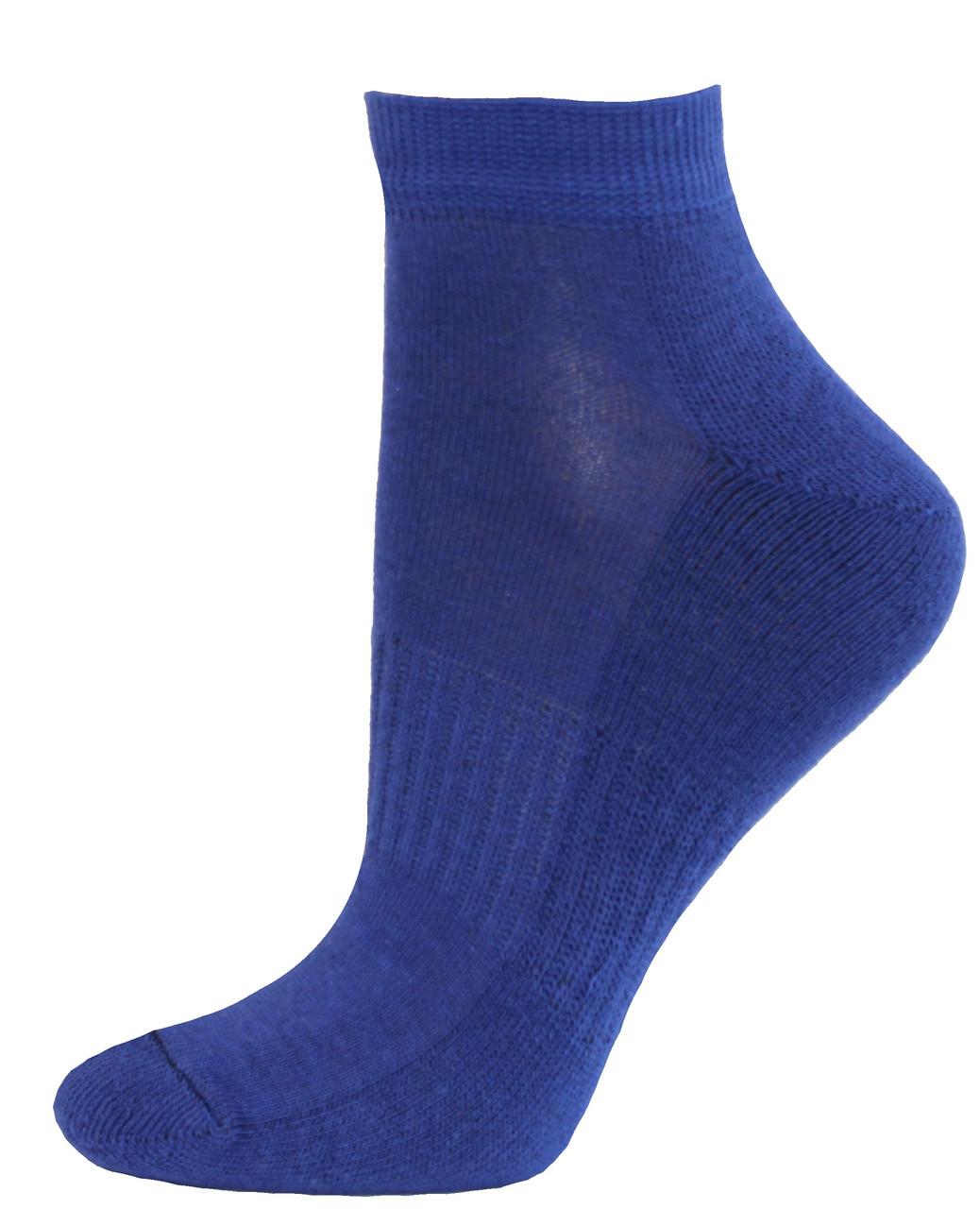 Женские зимние носки полуплюш укороченные