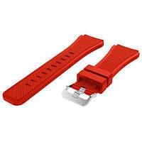 Силиконовый ремешок Primo для часов Xiaomi Amazfit GTR 47 mm - Red
