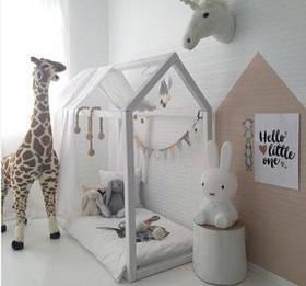 """Кровать детская """"Домик"""" без ножек (длина 160см)"""