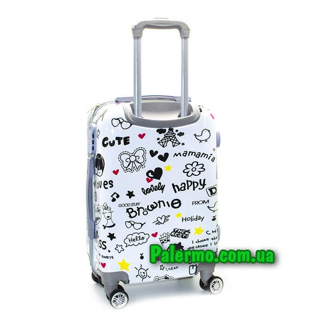 пластиковый дорожный чемодан Loves