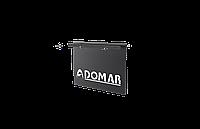 Брызговик (пара) с комплектом для фронтальной установки на полуприцеп Domar DK6552, 400*300 мм
