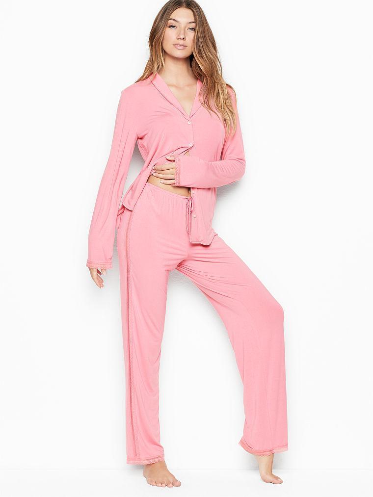 Пижама M из новой коллекции Victoria s Secret (Виктория Сикрет США) халат оригинал HL5