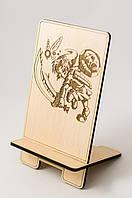 Деревянный держатель Подставка для смартфона Аксессуар для телефон Аксессуар для техники Игра Зельда Zelda