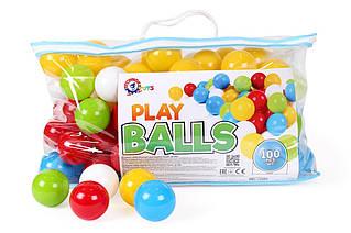 Набор шариков для сухих бассейнов, (100 шт.) «ТехноК» (5545)