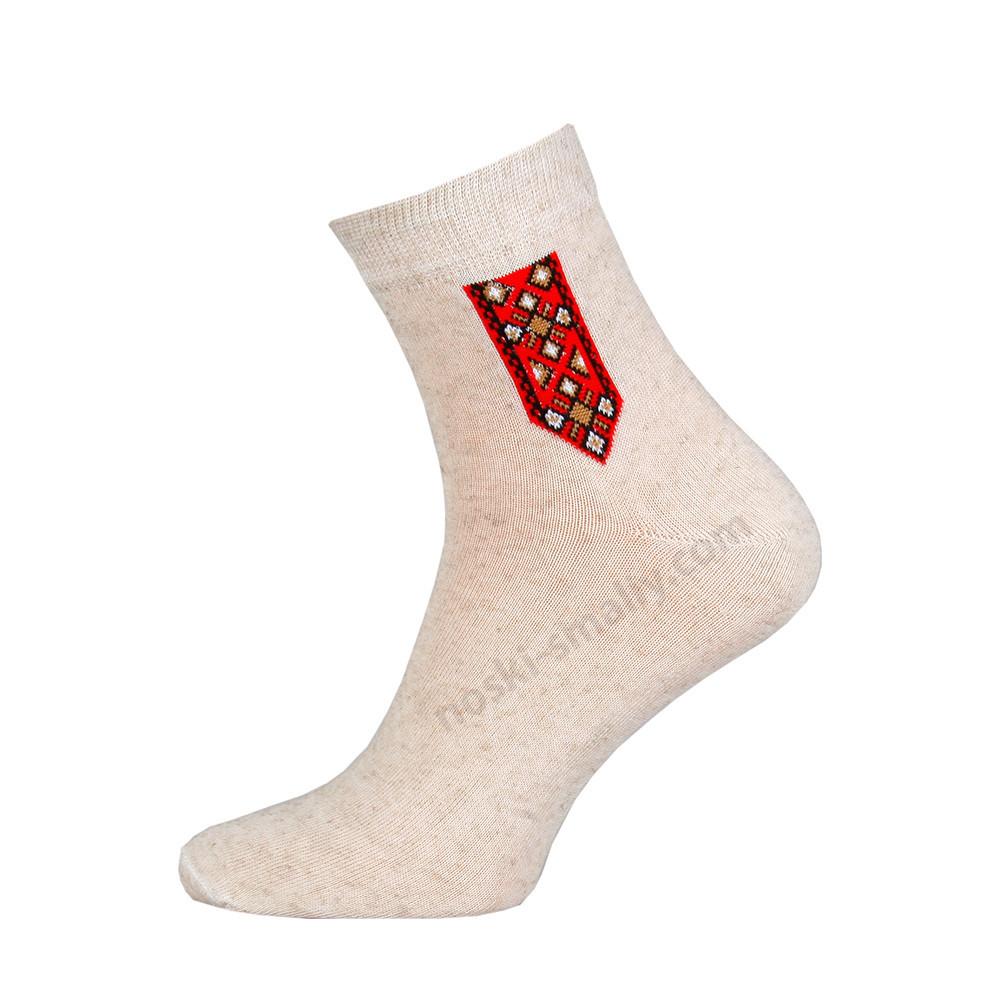 Демисезонные мужские носки, лен