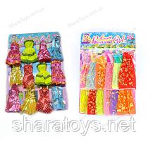 Набор одежды для куклы барби 12 штук