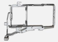 Кронштейн фары DAF CF (метал)