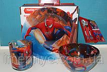 """Набор детской посуды для мальчика """"Человек паук"""""""