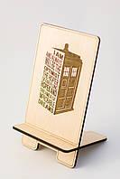 Аксессуар для телефон Деревянный держатель Подставка для смартфона