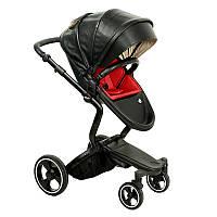 Универсальная коляска Ninos A-88 Black edition Черный A8806117B, КОД: 125733