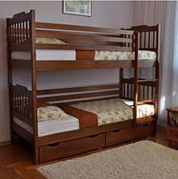 """Детская двyxъярycнaя кровать """"Ева"""" из ольхи, фото 1"""