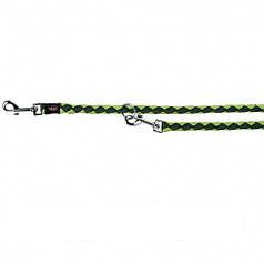 Поводок-перестежка Trixie Cavo L-XL  2,00м/Ø18мм (нейлон) оливковый/ярко-зеленый