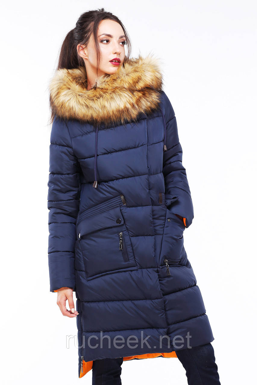 Женская зимняя куртка пуховик Рива 2 размер 44, NUI VERY Распродажа