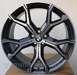 Оригинальные 21 диски для BMW X6 G06 741M style