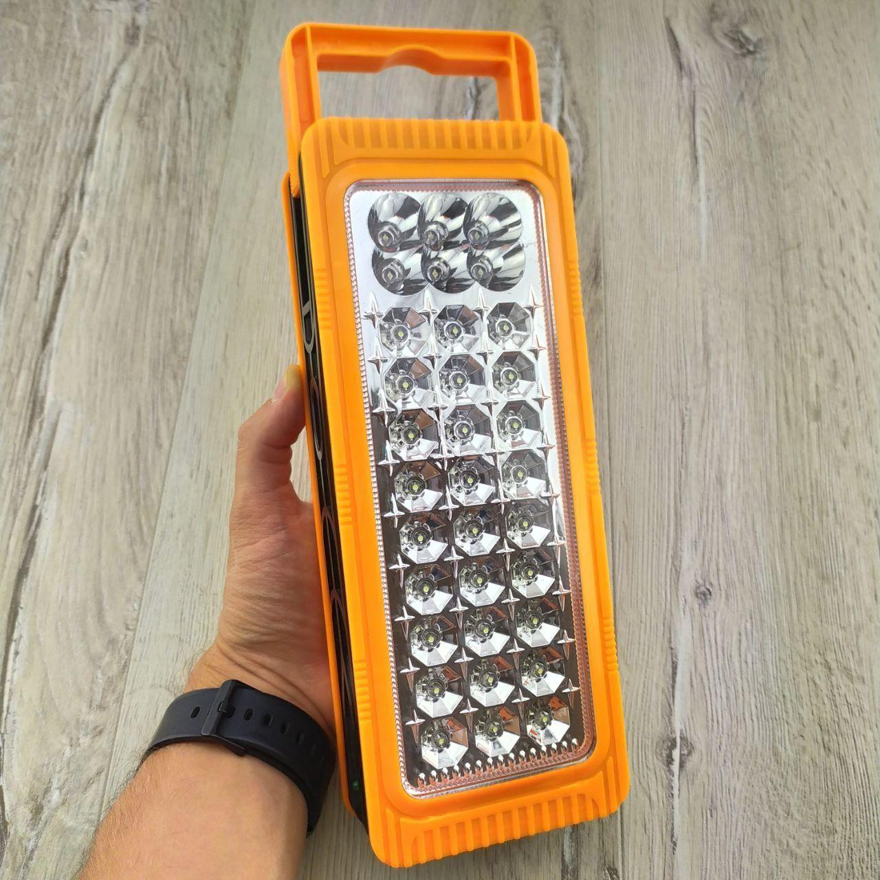 Енергозберігаюча акумуляторна світлодіодна лампа-панель Yajia YJ-6816 Підвісна Ліхтар LED переносна