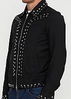 (Уценка) Рубашка мужская DIESEL цвет черный размер 48 арт (УЦ)RN93243