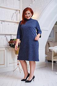 ДК0508 Платье ангора (размеры 50-56)