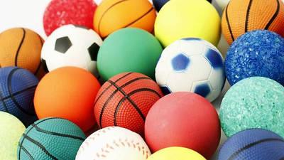 Мячики, шарики, наборы песочные