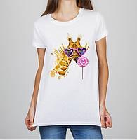 Женская футболка Push IT с принтом Жираф