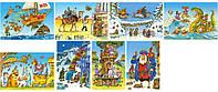 Пазлы Сборник мультфильмов, Castorland, 54 эл. 32 шт. в упаковке, А-08521-ВU1