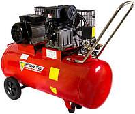 Компресор 100 л, 335 л/хв, 2.2 кВт, Forte ZA 65-100 (25043), фото 1