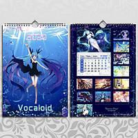 Календарь Vocaloid 2020 А3 настенный перекидной