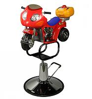 Парикмахерское детское кресло - мотоцикл для стрижки детей